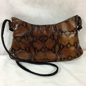 Snakeskin Shoulder Bag Made in Spain Juliana LN